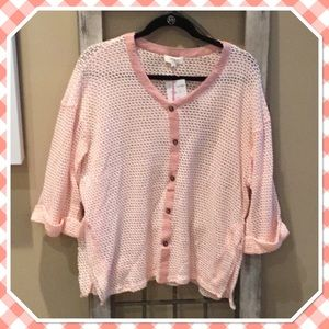 Umgee Pink Sweater NWT